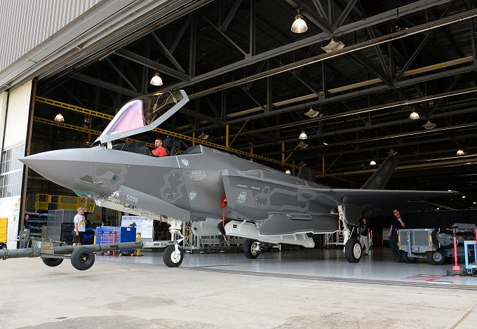 Ogden ALC delivers 12th F-35A