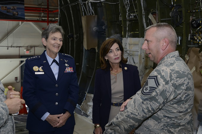 AFMC commander visits wing at N.Y. Guard base