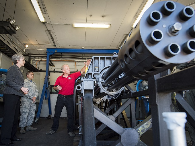 Secretary of the Air Force visits Eglin